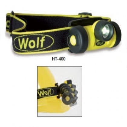 ATEX LED Zone 1 3AAA Primary Cell Headtorch