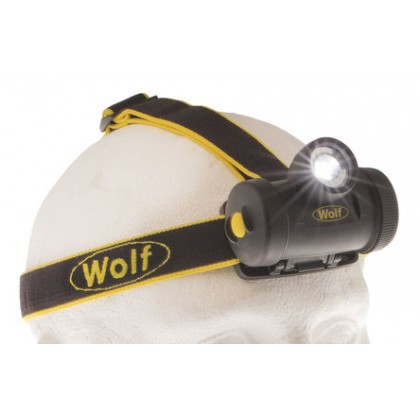 ATEX LED Zone 0 3AA Primary Cell Headtorch